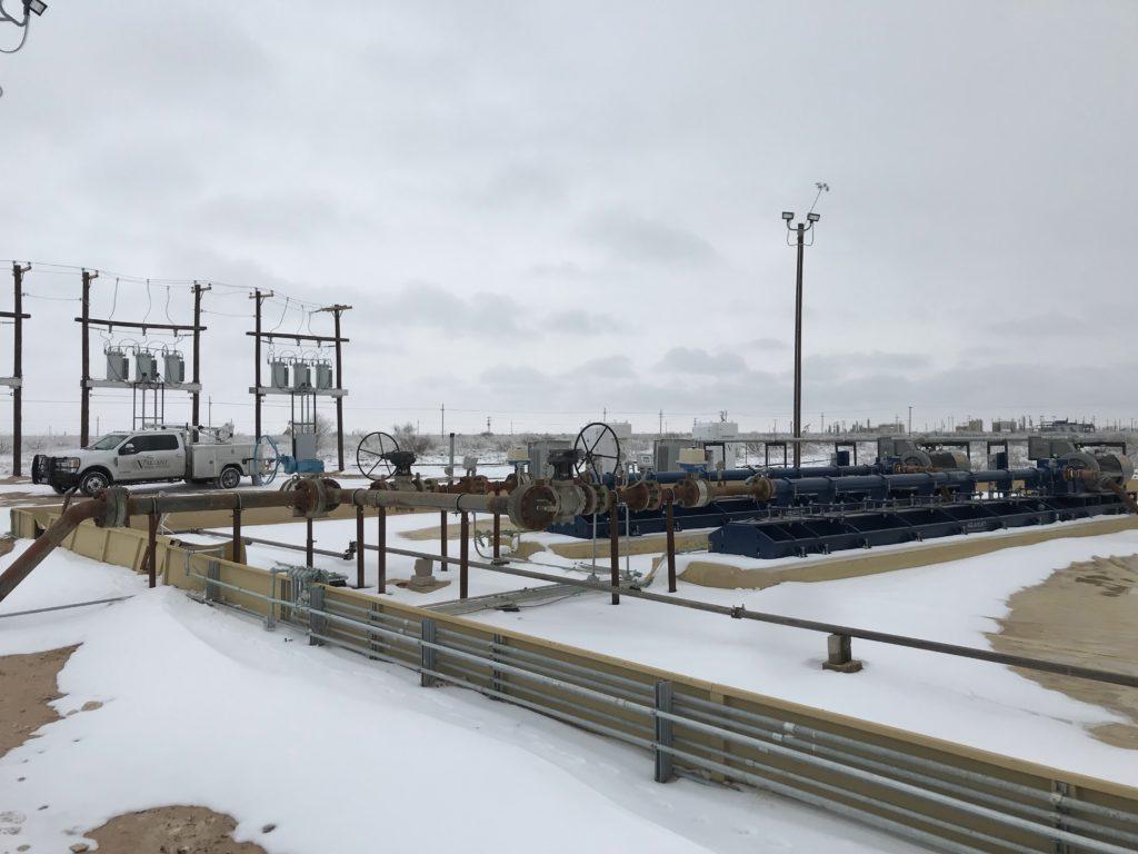 Horizontal pumps freezing temp
